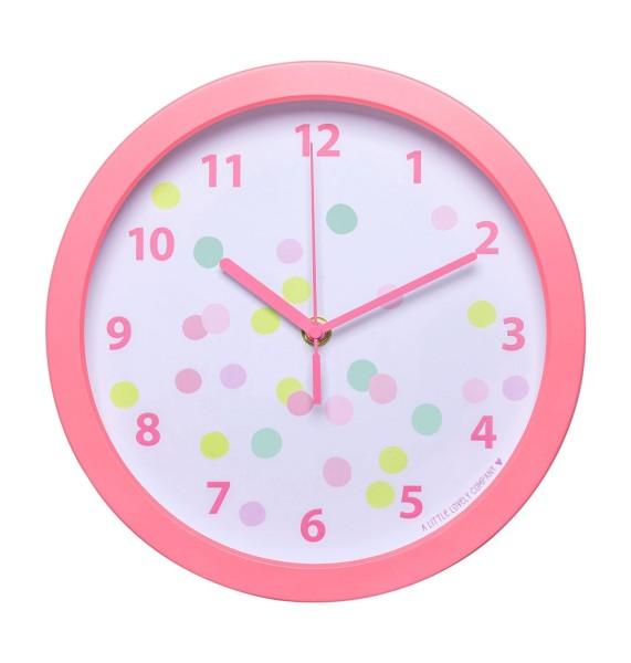 Horloge confetti