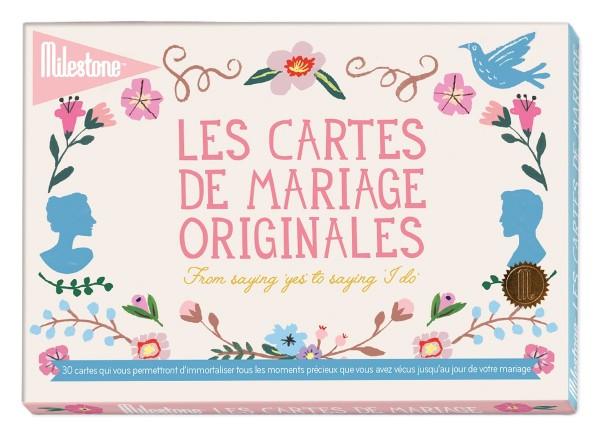 MilestoneWedding cards französisch