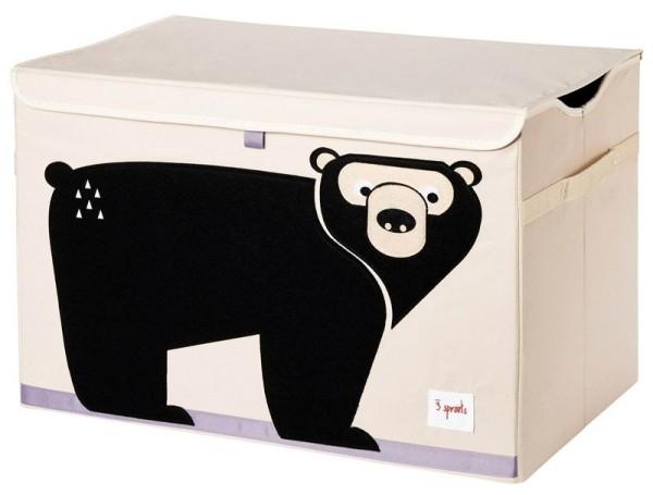 Coffre à jouets ours