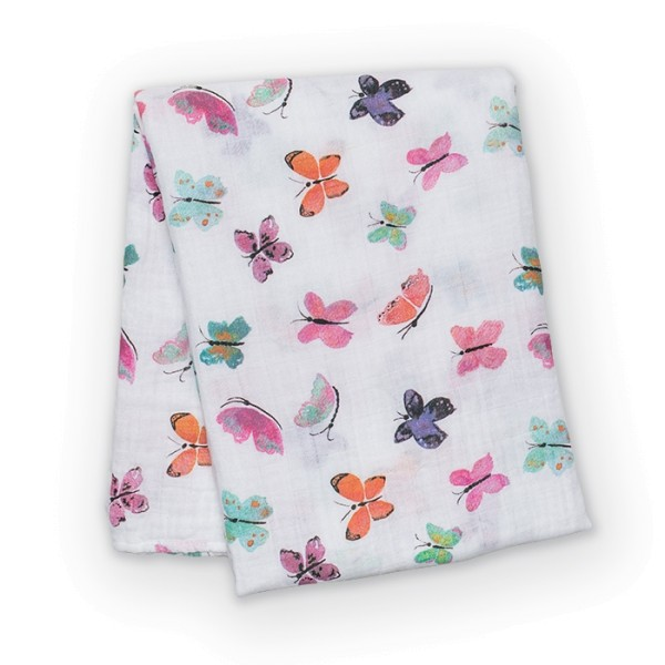Lange coton papillons