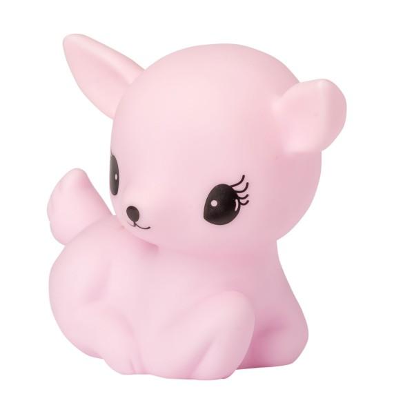 Petite veilleuse faon - rose