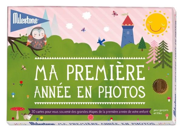 """Cartes Photos """"Ma première année en photos"""" - """"l''originale"""" - boîte filmée"""