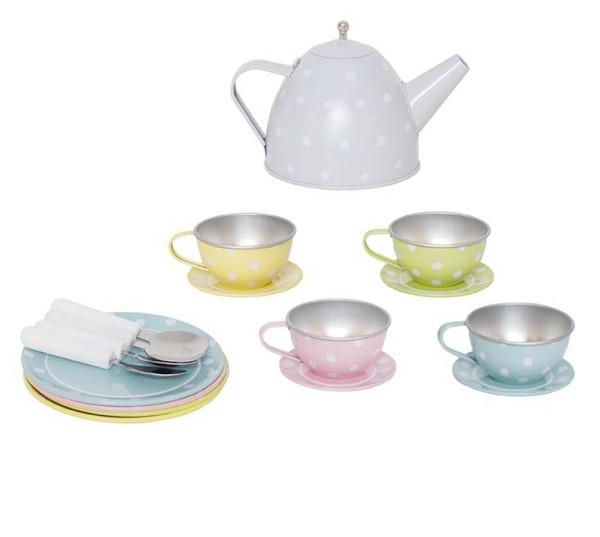 Panier avec service à thé