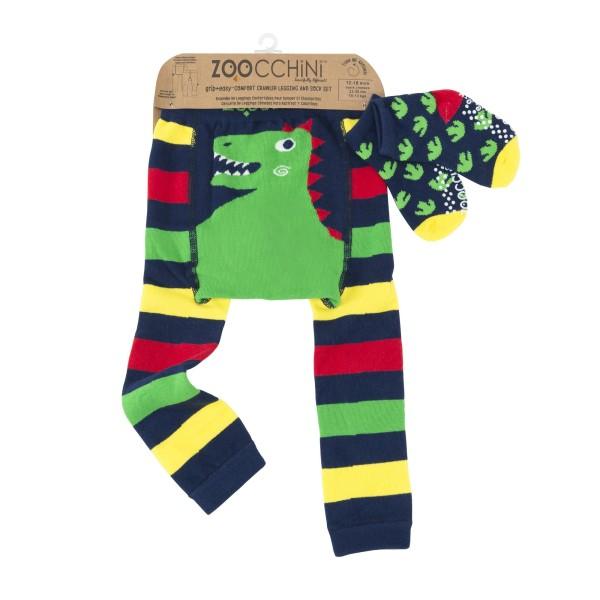 Leggings & chaussettes - dinosaure - 6-12 M