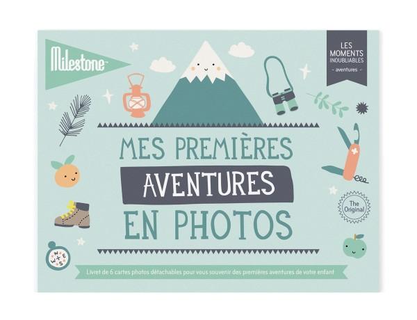 """Livret de cartes photos """"Mes premières aventures"""""""