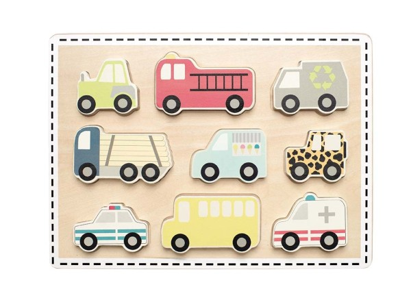 Puzzle voitures