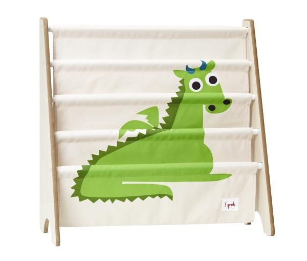 Rangement livres dragon