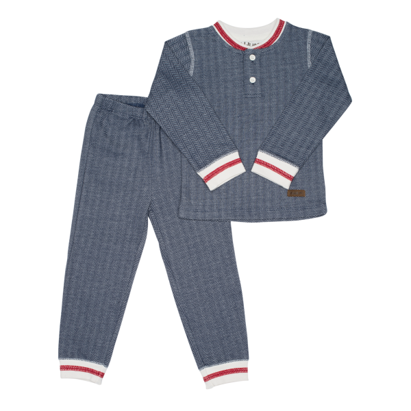 Pyjama collection cottage bleu S