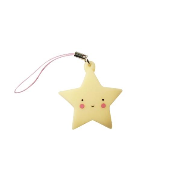 Charm étoile - jaune