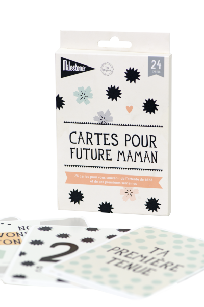 "Cartes ""future maman"""
