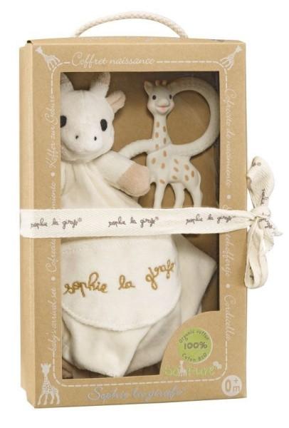 """Coffret doudou + anneau de dent Sophie la girafe - Collection """""""