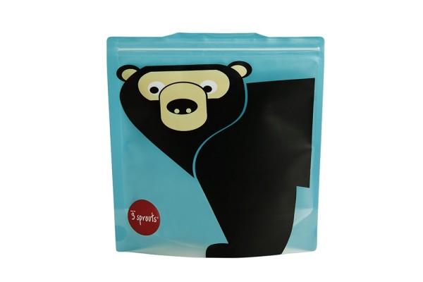 Sac à sandwich ours (pack de 2)