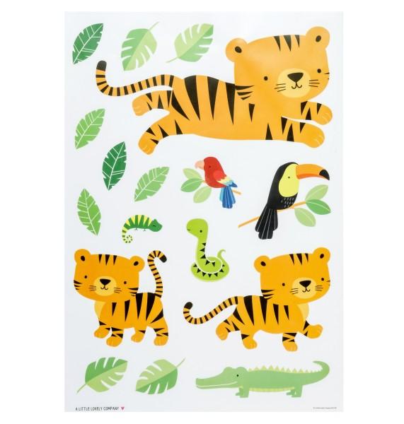 Autocollant mural tigre