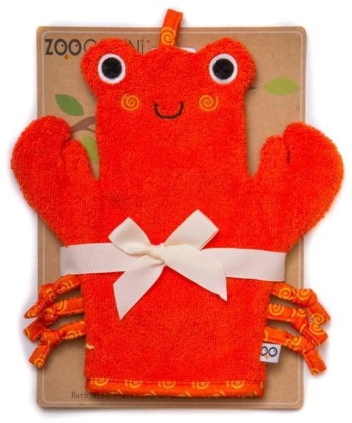 """Gant de bain """"Marionnette"""" Crabe"""