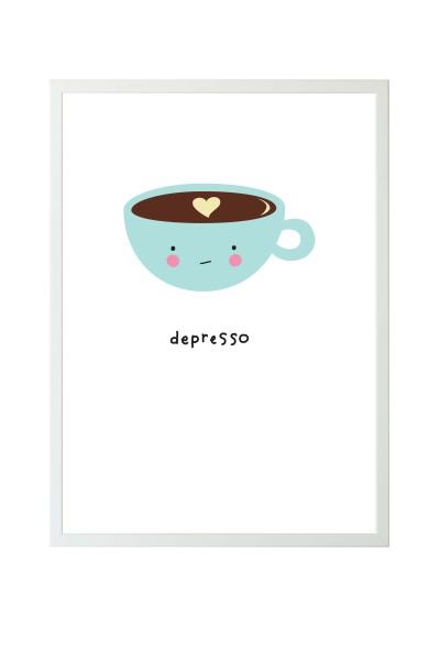 Poster A3 depresso
