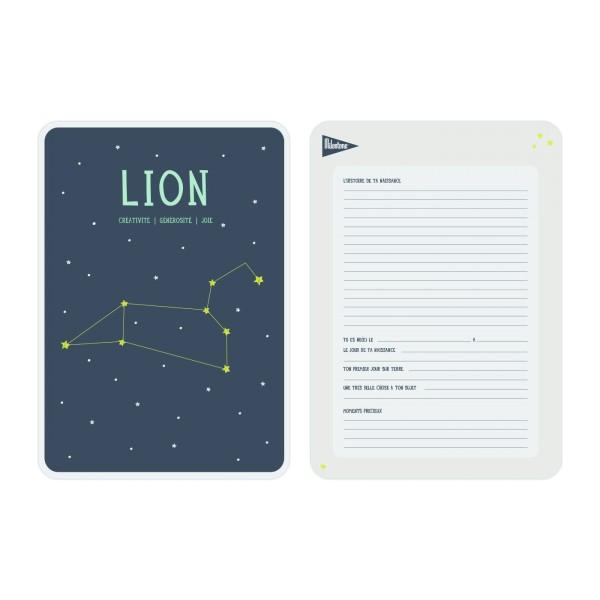 Poster Zodiac Lion