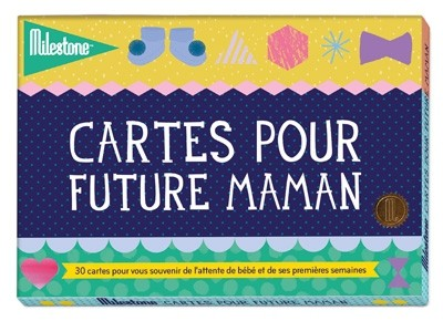 "Cartes Photos ""Pour future maman"" - Version française"