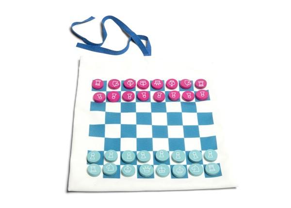 Jeux de voyage dames-échecs