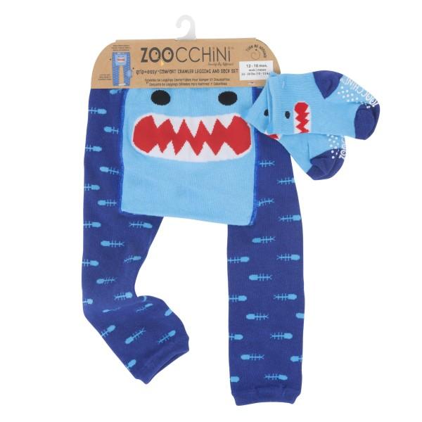 Leggings & chaussettes - requin - 12-18 M