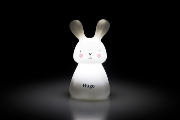 "Veilleuse solo lapin USB ""Hugo"""