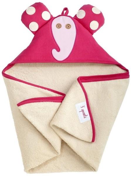 Serviette de bain avec capuche Eléphant