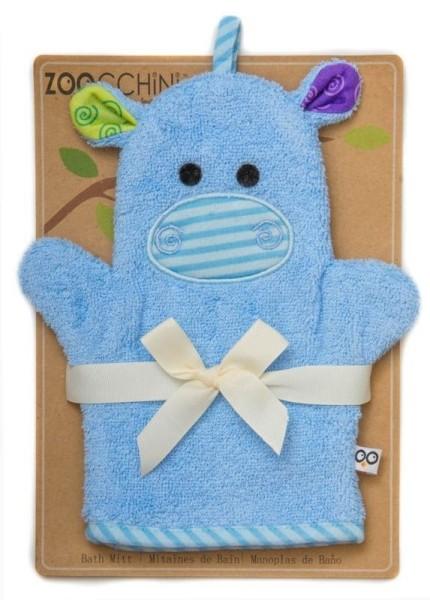 """Gant de bain """"Marionnette"""" Hippo"""