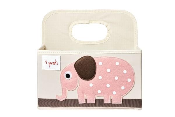 Petit panier de rangement éléphant