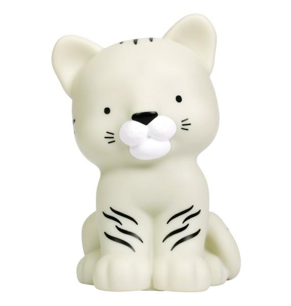 Petite veilleuse tigre blanc