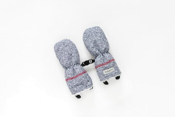 Gants d''hiver gris chiné 6-12 M