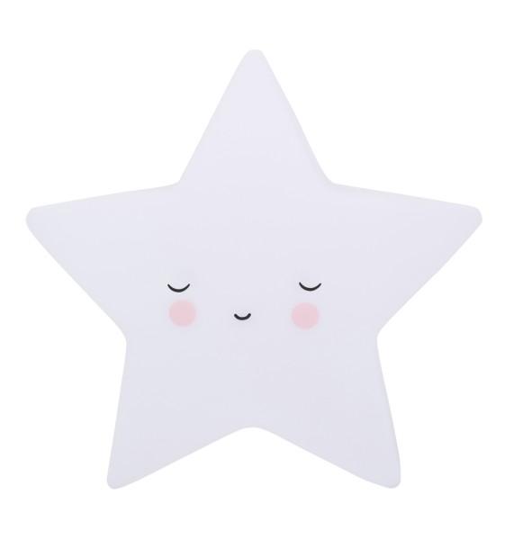 Petite veilleuse étoile blanche