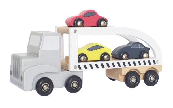 Camion remorque voitures