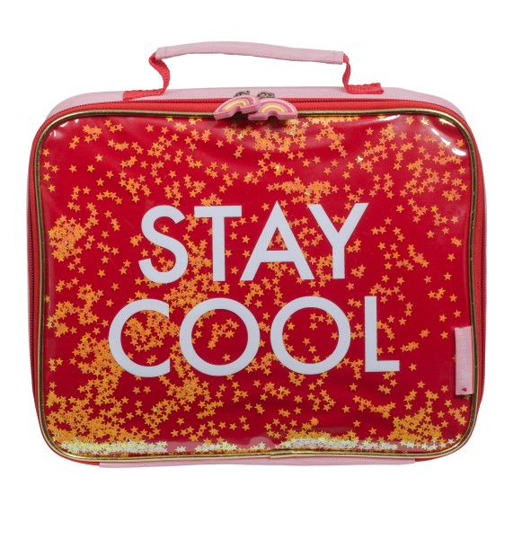 "Sac isotherme ""stay cool"" glitter"
