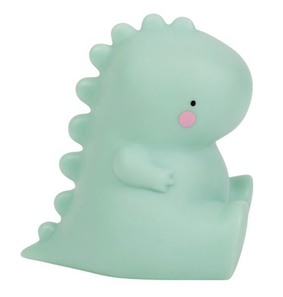 Petite veilleuse T-rex vert