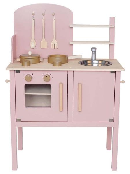 Cuisinière en bois rose