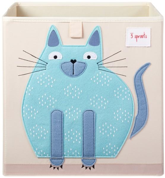 Cube de rangement jouets chat