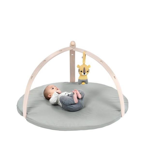 Portique d'éveil pour bébé en bois naturel (vendu sans jouet)