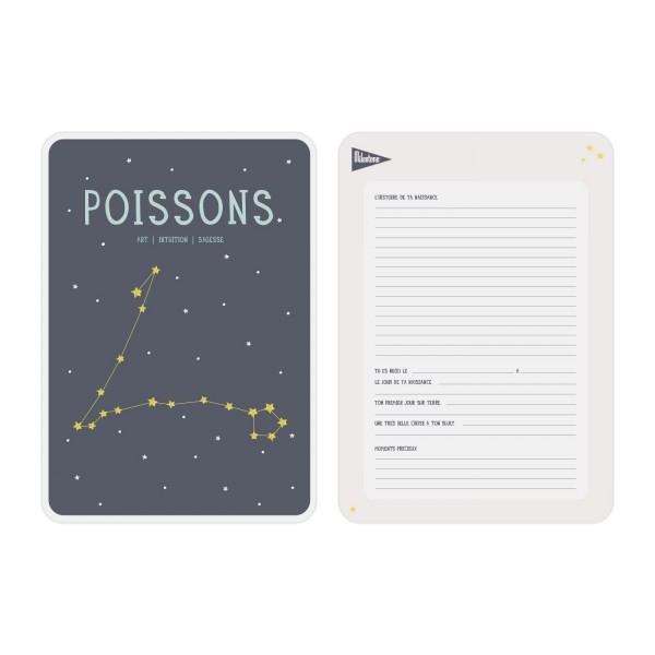 Poster Zodiac Poissons