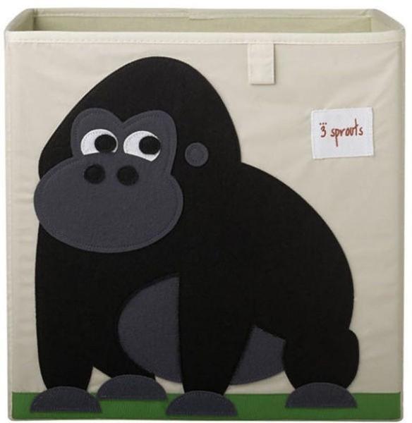 Cube de rangement jouets Gorille