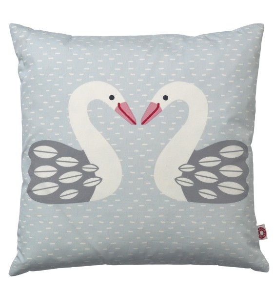 Coussin Almue cygne clair