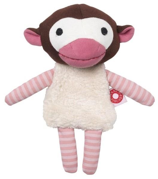 Doudou Trisse singe - rose