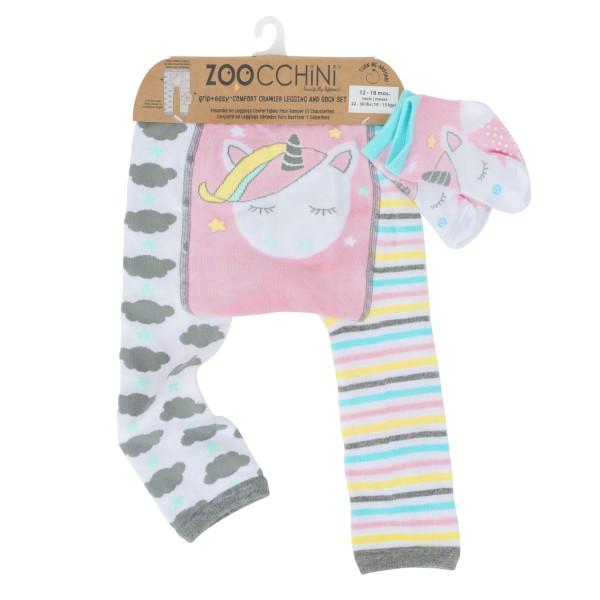 Leggings & chaussettes - licorne - 12-18 M