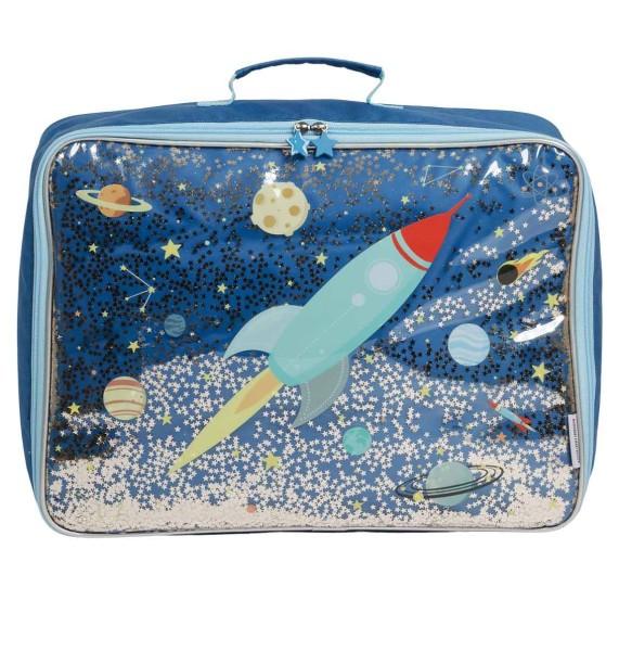 Valise : espace glitter