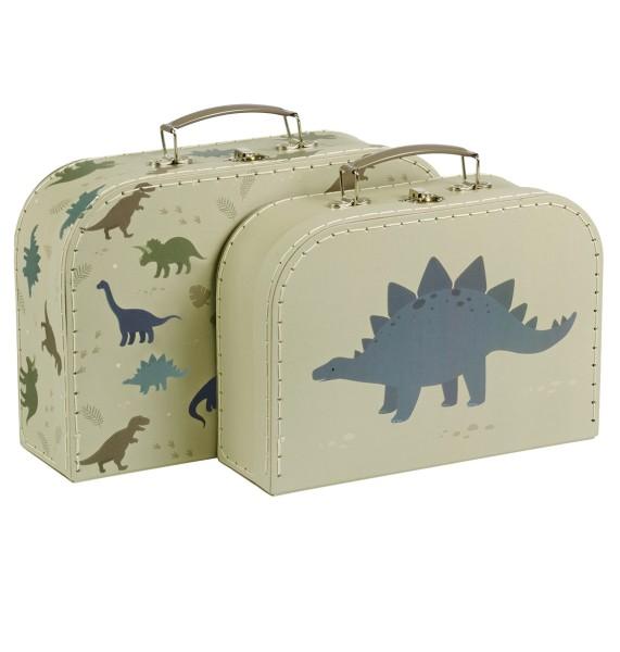 Set de 2 valisettes : dinosaures