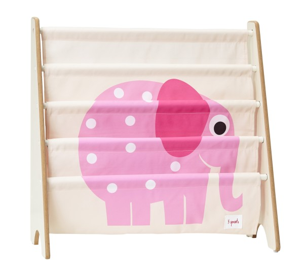 Rangement livres éléphant