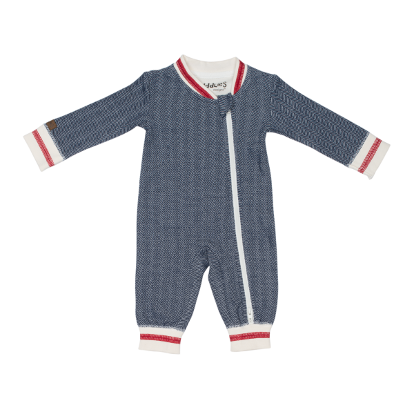Grenouillère collection cottage bleue M 6-12M