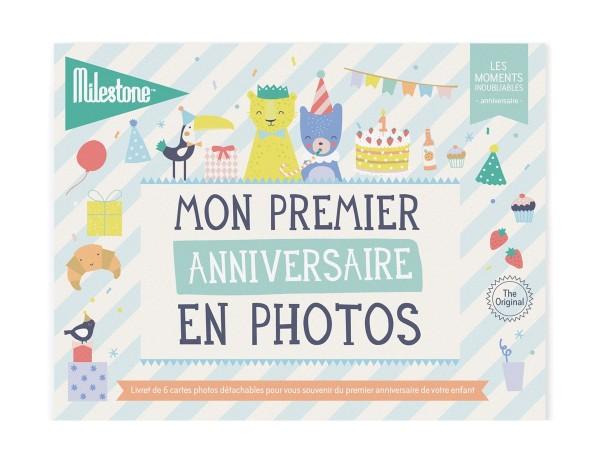 """Livret de cartes photos """"Mon premier anniversaire"""""""