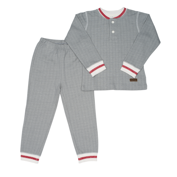 Pyjama collection cottage gris S