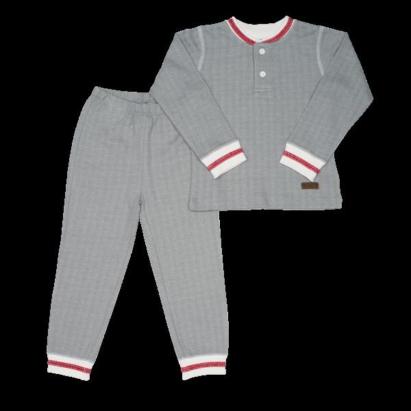 Pyjama collection cottage gris S