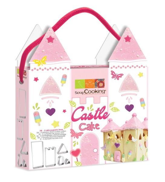 """Kit emporte-pièces """"Castle cake"""""""