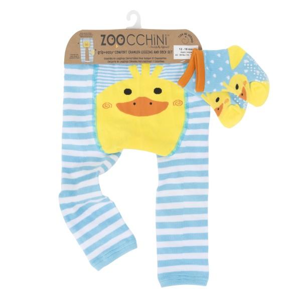 Leggings & chaussettes - canard - 12-18 M